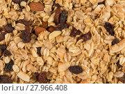 Купить «breakfast cereals background», фото № 27966408, снято 19 октября 2018 г. (c) PantherMedia / Фотобанк Лори