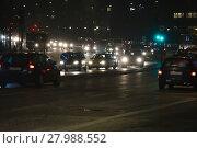Купить «Traffic on a city road», фото № 27988552, снято 20 марта 2019 г. (c) PantherMedia / Фотобанк Лори