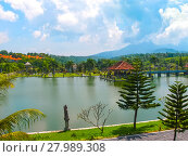 Купить «Bali, Indonesia - April 15, 2012: Water Palace Taman Ujung», фото № 27989308, снято 24 февраля 2018 г. (c) PantherMedia / Фотобанк Лори