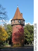 Купить «landwehr tower in hannover in autumn», фото № 28005208, снято 27 мая 2019 г. (c) PantherMedia / Фотобанк Лори