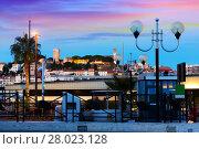 Купить «View on colorful streets of Cannes in France», фото № 28023128, снято 3 декабря 2017 г. (c) Яков Филимонов / Фотобанк Лори