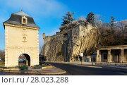 Купить «Porte de France and Jardin des Dauphins, Grenoble, France», фото № 28023288, снято 7 декабря 2017 г. (c) Яков Филимонов / Фотобанк Лори
