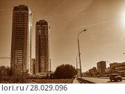 Екатеринбург. Красивый городской пейзаж. Стоковое фото, фотограф Сергеев Валерий / Фотобанк Лори