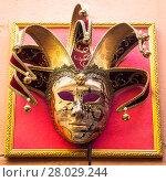 Купить «Mask in Venice», фото № 28029244, снято 17 июня 2019 г. (c) PantherMedia / Фотобанк Лори