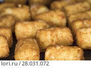 Купить «brown brunette many potatoes enclosure», фото № 28031072, снято 24 марта 2018 г. (c) PantherMedia / Фотобанк Лори