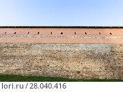 Купить «part of an ancient fortress», фото № 28040416, снято 18 июля 2018 г. (c) PantherMedia / Фотобанк Лори