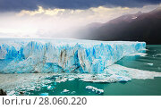 Купить «Glacier Perito Moreno, southeast of Argentina», фото № 28060220, снято 2 февраля 2017 г. (c) Яков Филимонов / Фотобанк Лори