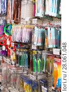 Купить «In fishing shop in Barcelona», фото № 28061048, снято 16 января 2018 г. (c) Яков Филимонов / Фотобанк Лори