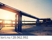 Купить «Газопровод», фото № 28062992, снято 5 октября 2016 г. (c) Икан Леонид / Фотобанк Лори