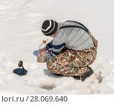 Winter fishing. Стоковое фото, фотограф Павел Воробьев / Фотобанк Лори