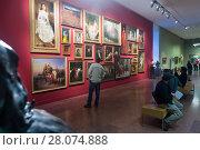 Купить «Hungarian National Gallery in Buda Castle», фото № 28074888, снято 29 октября 2017 г. (c) Яков Филимонов / Фотобанк Лори