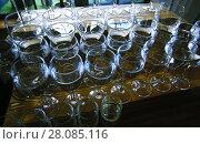 Wine glasses. Стоковое фото, фотограф Vasily Smirnov / Фотобанк Лори