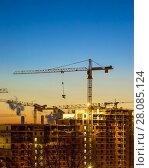 Home construction. sunset. (2013 год). Стоковое фото, фотограф Vasily Smirnov / Фотобанк Лори