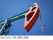 Купить «Work of oil pump jack on a oil field», фото № 28086888, снято 18 февраля 2019 г. (c) easy Fotostock / Фотобанк Лори