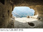 Купить «Vardzia cave monastery, Georgia», фото № 28087916, снято 23 сентября 2017 г. (c) Андрей Пожарский / Фотобанк Лори