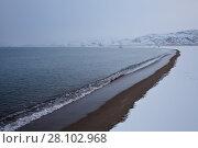 Купить «Берег Белого моря. Кольский полуостров.», фото № 28102968, снято 5 ноября 2016 г. (c) Victoria Demidova / Фотобанк Лори