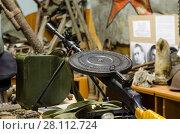 Купить «Ручной пулемет Дегтярева (Дегтярёва) пехотный», фото № 28112724, снято 7 декабря 2015 г. (c) Яковлев Сергей / Фотобанк Лори