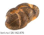 Купить «Батон хлеба, изолированно на белом фоне», фото № 28142876, снято 11 апреля 2015 г. (c) Литвяк Игорь / Фотобанк Лори
