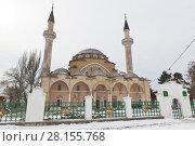 Купить «Соборная мечеть Джума Хан Джами в Евпатории, Крым», фото № 28155768, снято 28 февраля 2018 г. (c) Николай Мухорин / Фотобанк Лори