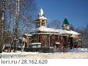 Церковь Зосимы и Савватия, Няндома (2009 год). Стоковое фото, фотограф Татьяна Цибушок / Фотобанк Лори