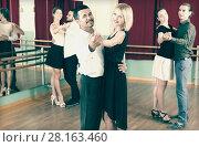 Купить «people having dancing class», фото № 28163460, снято 19 сентября 2019 г. (c) Яков Филимонов / Фотобанк Лори