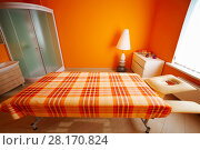 Купить «Room with table for massage, aromatherapy, relaxation and shower cabin», фото № 28170824, снято 29 июня 2016 г. (c) Losevsky Pavel / Фотобанк Лори