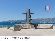 Купить «TOULON, FRANCE - AUG 1, 2016: Monument national des Sous-Mariniers», фото № 28172308, снято 1 августа 2016 г. (c) Losevsky Pavel / Фотобанк Лори