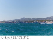 Купить «Views of Mediterranean coast from sea, warships, Toulon, France», фото № 28172312, снято 1 августа 2016 г. (c) Losevsky Pavel / Фотобанк Лори