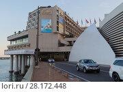 Купить «MONTE CARLO, MONACO - AUG 2, 2016: Grand Prix tunnel and hotel Fairmont on an ordinary day», фото № 28172448, снято 2 августа 2016 г. (c) Losevsky Pavel / Фотобанк Лори