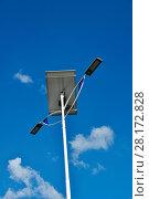 Купить «Public lighting, LED, Jamil Nasser Highway, MG-450, 2017, Guaxupé, Minas Gerais, Brazil.», фото № 28172828, снято 9 декабря 2017 г. (c) age Fotostock / Фотобанк Лори