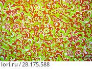 Купить «Detail of vintage fabric pattern.», фото № 28175588, снято 10 октября 2017 г. (c) age Fotostock / Фотобанк Лори