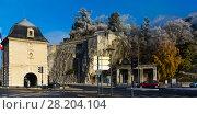 Купить «Porte de France and Jardin des Dauphins, Grenoble, France», фото № 28204104, снято 7 декабря 2017 г. (c) Яков Филимонов / Фотобанк Лори