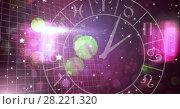 Astrology zodiac with sparkling lights. Стоковое фото, агентство Wavebreak Media / Фотобанк Лори