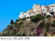 Sperlonga view, Latina, Lazio, Italy (2017 год). Стоковое фото, фотограф Юрий Брыкайло / Фотобанк Лори