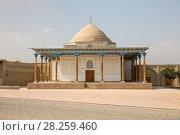 Купить «Ancient mosque Abdushukur Agalik in Shakhrisabz, Uzbekistan», фото № 28259460, снято 16 октября 2016 г. (c) Юлия Бабкина / Фотобанк Лори
