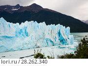Купить «Glacier Perito Moreno, southeast of Argentina», фото № 28262340, снято 2 февраля 2017 г. (c) Яков Филимонов / Фотобанк Лори
