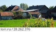 Купить «Illustration of old village of Crisana», фото № 28262376, снято 14 сентября 2017 г. (c) Яков Филимонов / Фотобанк Лори