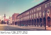 Купить «Dom Square is famous landmark of Szeged», фото № 28277252, снято 31 октября 2017 г. (c) Яков Филимонов / Фотобанк Лори