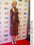 Купить «Actors attends a premiere for 'Lion' for the annual Toronto Film Festival (TIFF), in Toronto, Canada. Featuring: Nicole Kidman Where: Toronto, Canada When: 10 Sep 2016 Credit: Euan Cherry/WENN.com», фото № 28287116, снято 10 сентября 2016 г. (c) age Fotostock / Фотобанк Лори
