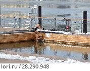 Купить «Allas Sea Pool. Pool with sea water in March», фото № 28290948, снято 24 марта 2018 г. (c) Валерия Попова / Фотобанк Лори