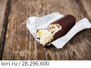 Sweet cottage cheese in chocolate. Стоковое фото, фотограф Елена Блохина / Фотобанк Лори