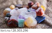 Купить «Native stones semi-precious stones», фото № 28303296, снято 30 марта 2018 г. (c) Федонников Никита Александрович / Фотобанк Лори