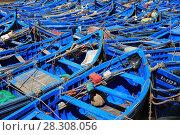 Купить «Skala du Port, fishing boats in Harbor, Essaouira, Morocco, Atlantic Coast, North Africa, Africa», фото № 28308056, снято 25 марта 2017 г. (c) age Fotostock / Фотобанк Лори