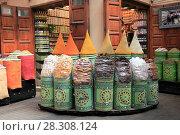 Купить «Spice Market, Souk, Mellah (Old Jewish Quarter), Marrakesh (Marrakech), Morocco, North Africa, Africa», фото № 28308124, снято 28 марта 2017 г. (c) age Fotostock / Фотобанк Лори