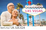 Купить «senior couple traveling to las vegas», фото № 28326624, снято 4 сентября 2014 г. (c) Syda Productions / Фотобанк Лори