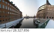 Купить «Стокгольм», фото № 28327856, снято 3 февраля 2012 г. (c) Яковлев Сергей / Фотобанк Лори