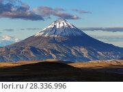 Купить «Камчатский горный пейзаж», фото № 28336996, снято 14 сентября 2016 г. (c) А. А. Пирагис / Фотобанк Лори