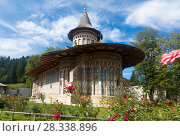 Church of Voronet Monastery, Bucovina (2017 год). Стоковое фото, фотограф Яков Филимонов / Фотобанк Лори