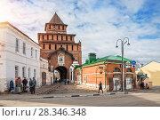 Купить «Калачная в Коломне The Kalach Museum  in Kolomna», фото № 28346348, снято 7 апреля 2018 г. (c) Baturina Yuliya / Фотобанк Лори