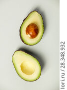 Купить «Avocado - vertical composition», фото № 28348932, снято 5 апреля 2018 г. (c) Наталия Кленова / Фотобанк Лори